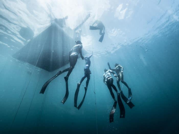 Sofía Gómez Uribe Sets New CMAS Bi-Fins Freediving World