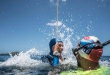 Sofía Gómez Uribe Sets New CMAS Bi-Fins Freediving World Record