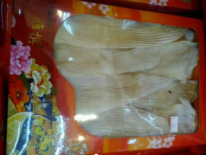 Shark Fin gift box for Chinese New Year