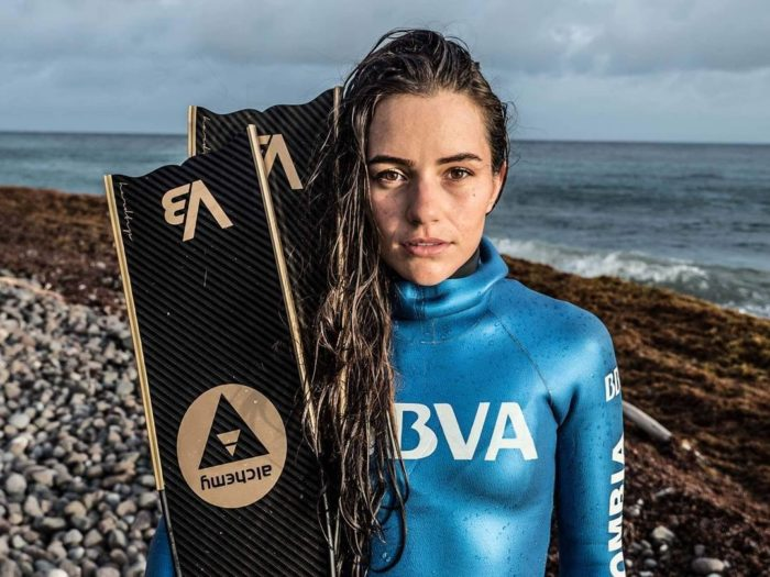 Sofía Gómez Uribe Sets New CMAS Bi-Fins Freediving World Record