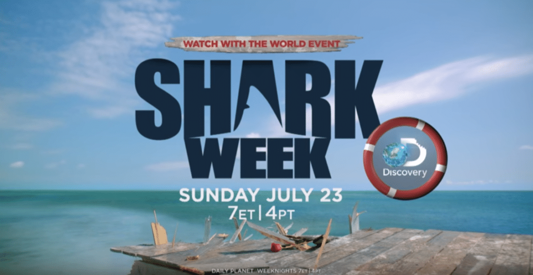 Shark week trailer with rock star Seal