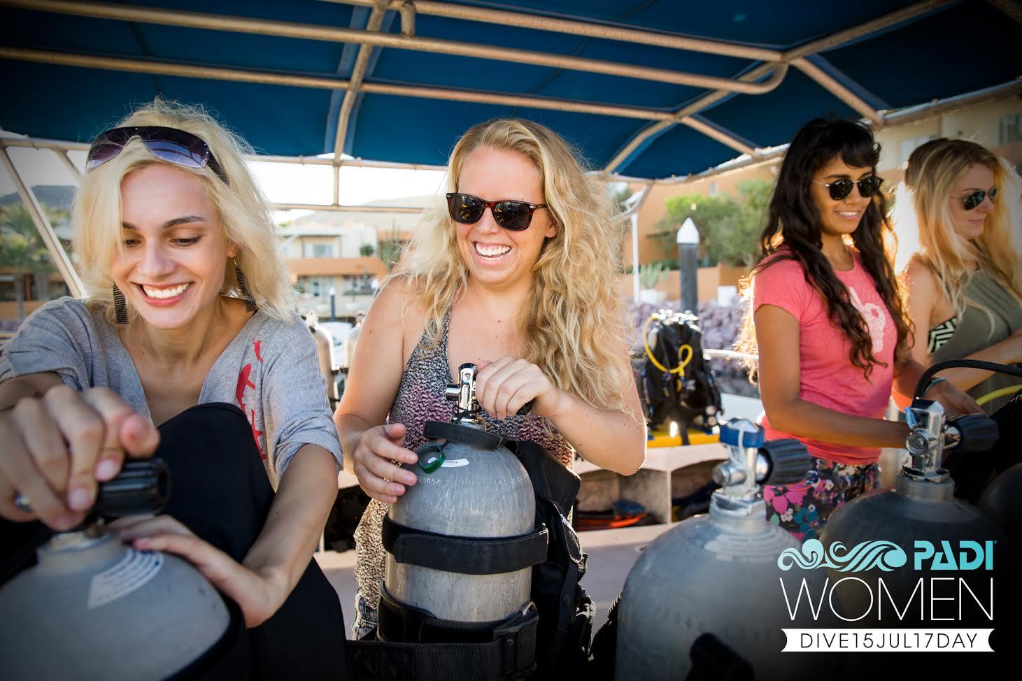 PADI Women's Dive Day Is Just Around The Corner