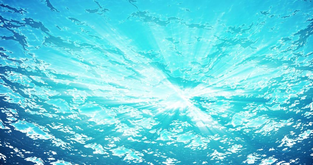 Underwater Ocean Surface