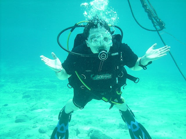 peer pressure scuba diving it is up to you