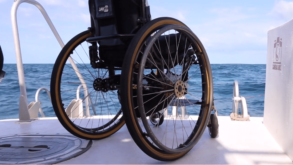 Weekend Dive Event To Showcase Diving With A Disability