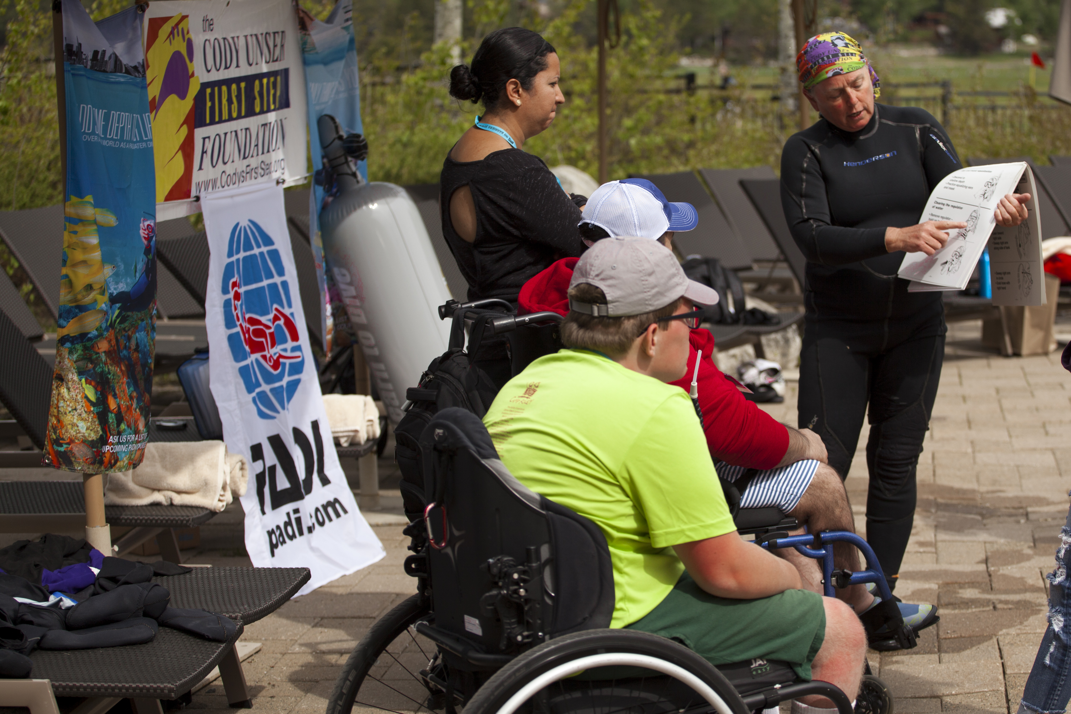 Weekend Dive Event To Showcase Diving With A Disability 1