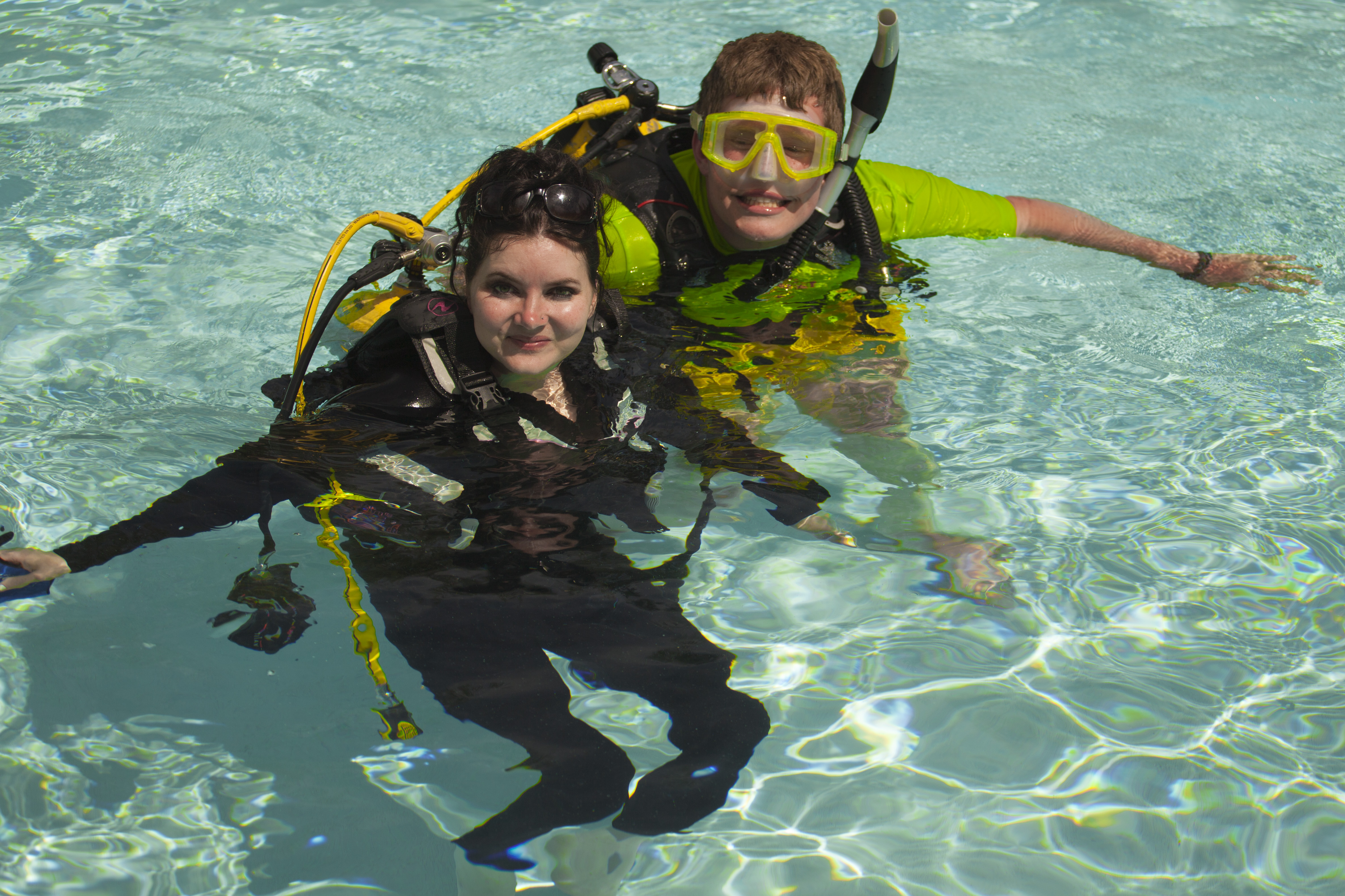 Weekend Dive Event To Showcase Diving With A Disability (Photo credit: The Cody Unser First Step Foundation & PADI)