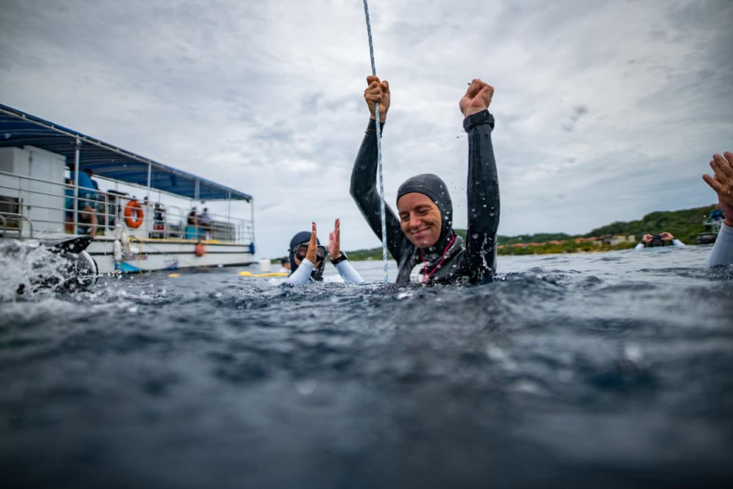 Alenka triumphs at the Caribbean Cup (photo © Daan Verhoeven)