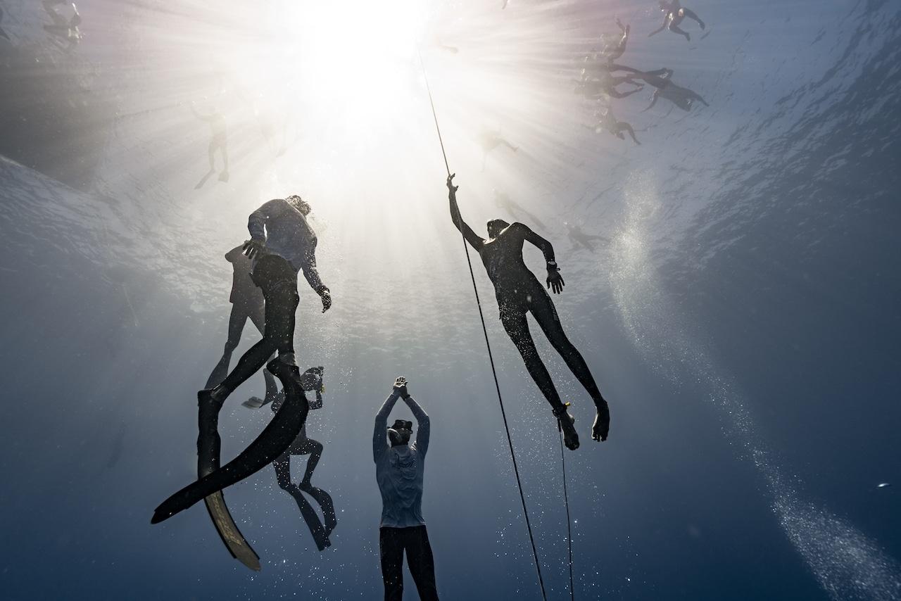 Alessia ascends to her destiny (photo © Daan Verhoeven)