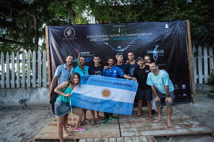 Team Argentina representing.