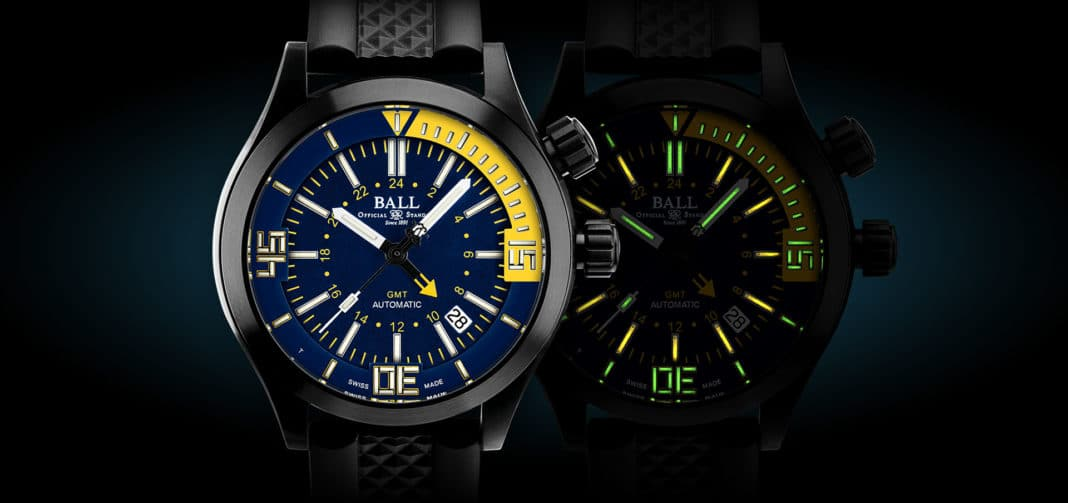 Check Out BALL Watch Co.'s New Engineer Master II Diver Series