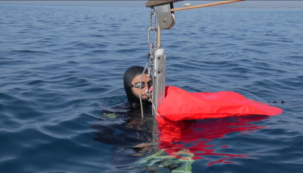 Harry Chamas Sets New British No Limits Freediving Record