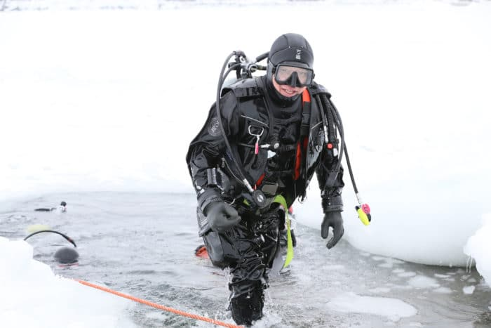 The Arctic Expedition is designed for cold water environments