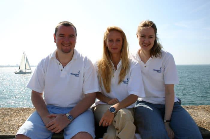 Stephan Whelan, Tanya Streeter & Emma Farrell