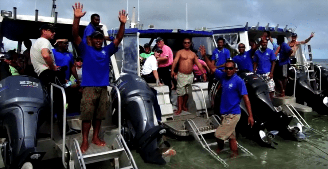 Ra Divers at Volivoli Beach Resort Fiji announce a new dive boat