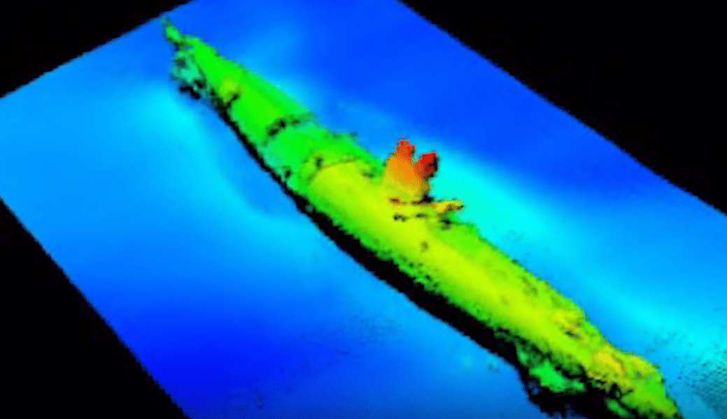 WWI U-Boat Wreck found off the Belgian coast