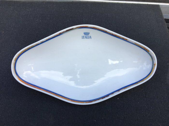 A china dish from the Andrea Doria