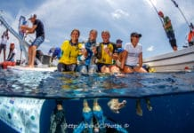 Carolina Schrappe Breaks Variable-Weight Continental Record At Bonaire Deepsea Challenge