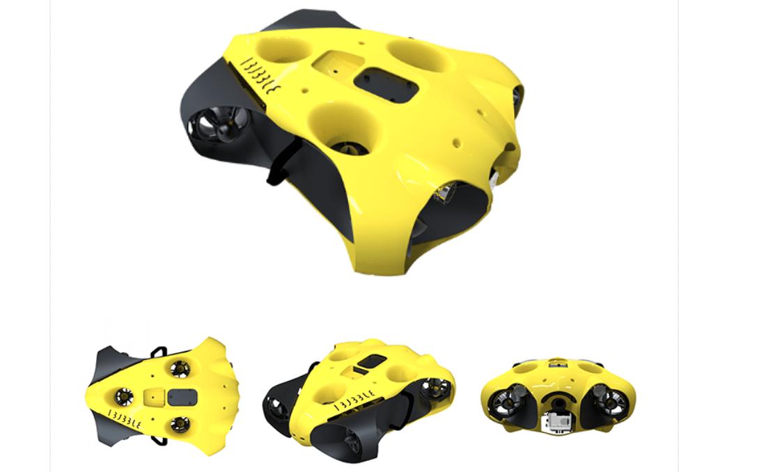 iBubble autonomous underwater camera drone