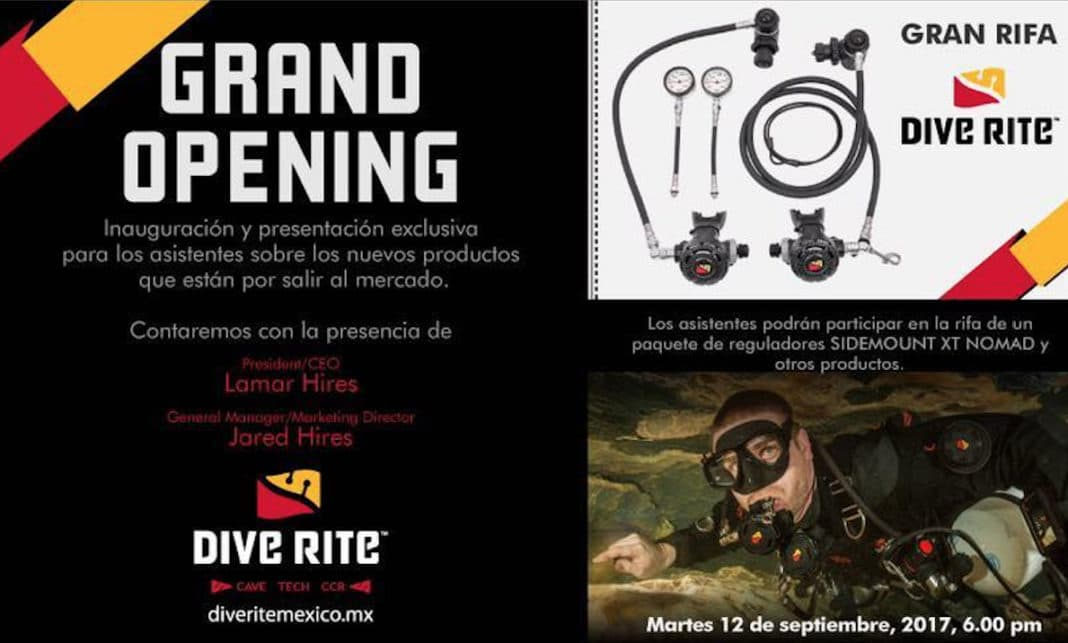 New Yucatan Cave Diving Company Dive Rite Mexico Open For Business