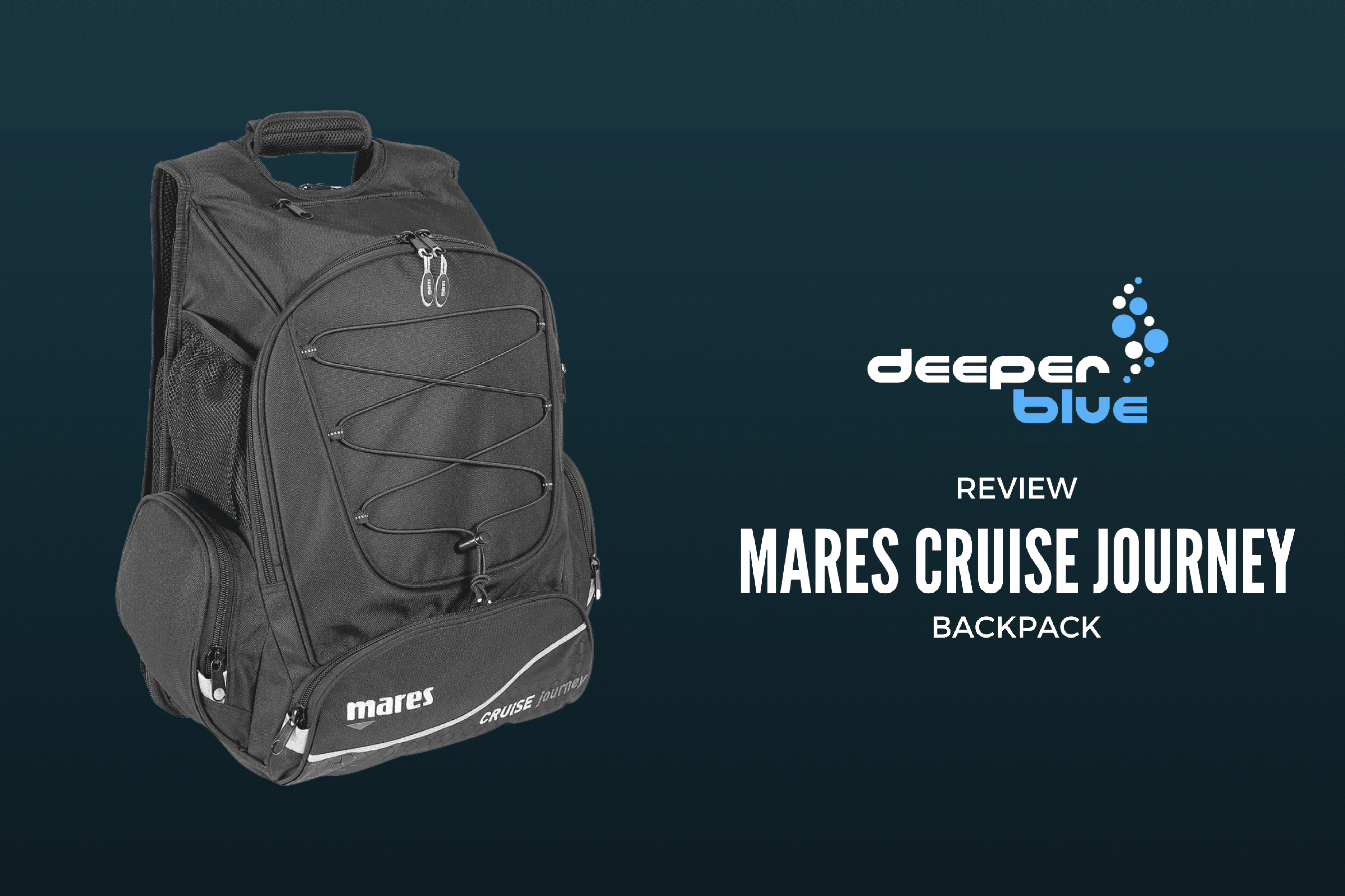 Review - Mares Cruise Journey Backpack