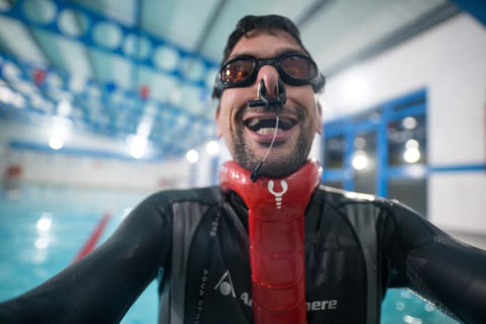 Lobster Freediving Neckweight System
