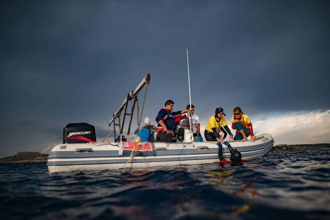 Stormy weather (photo by Daan Verhoeven)