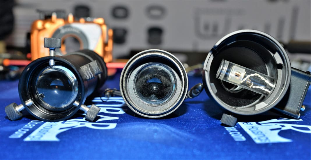 10 Bar Underwater Housings Introduces New Adaptable Snoots