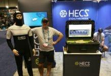 Warren Bird of HECS with Their New Semi-Dry Dive Suit