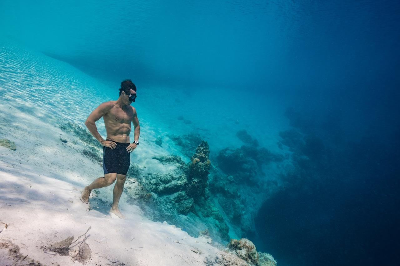 UK National Freediving Champion Michael Board (photo credit: Daan Verhoeven)