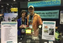 AquaSketch is introducing a new and updated version of its Minno underwater notebook at this year's DEMA Show.