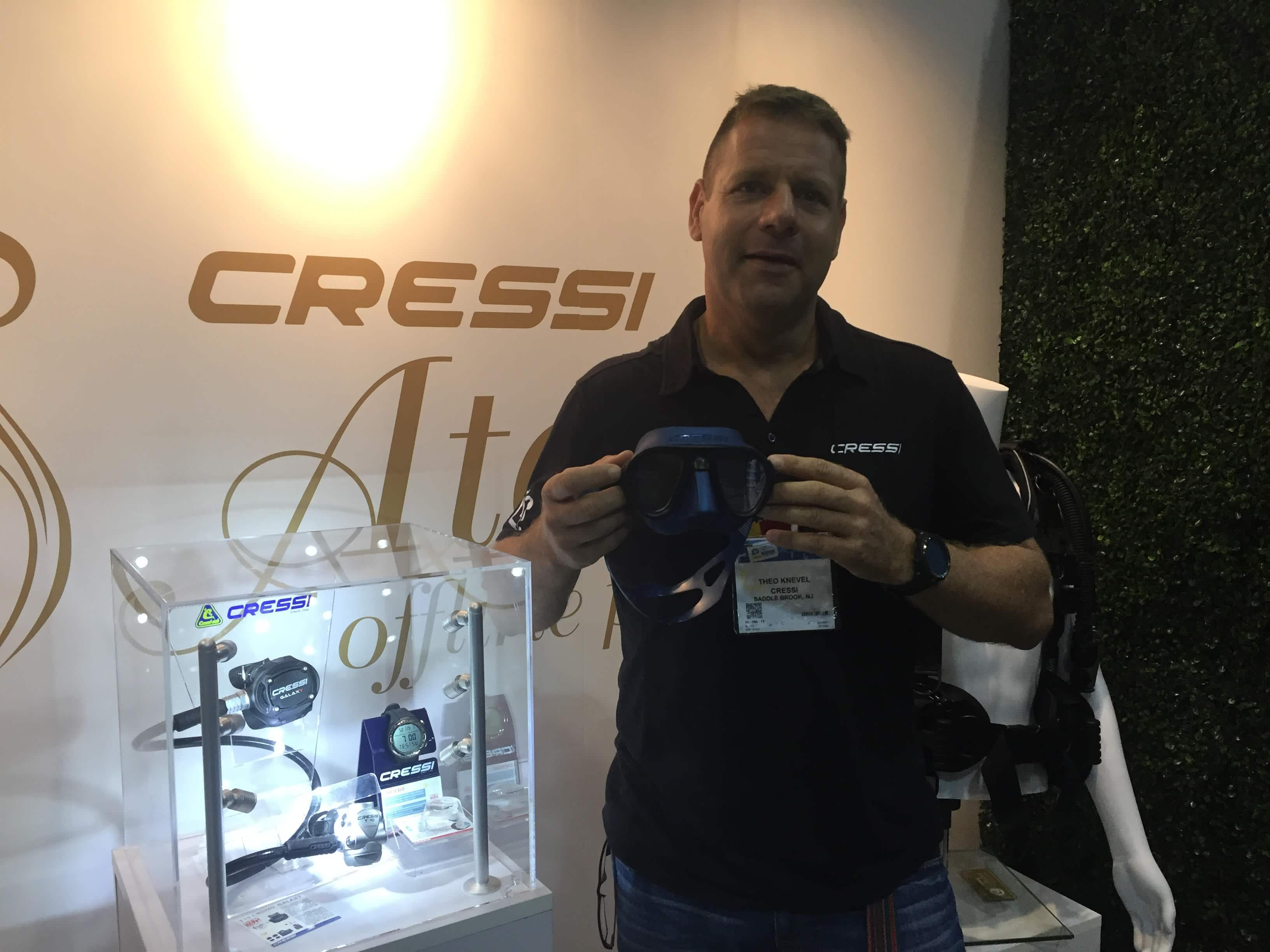 CRESSI Showcases Fog Stop System, Calibro Mask At DEMA Show 2017