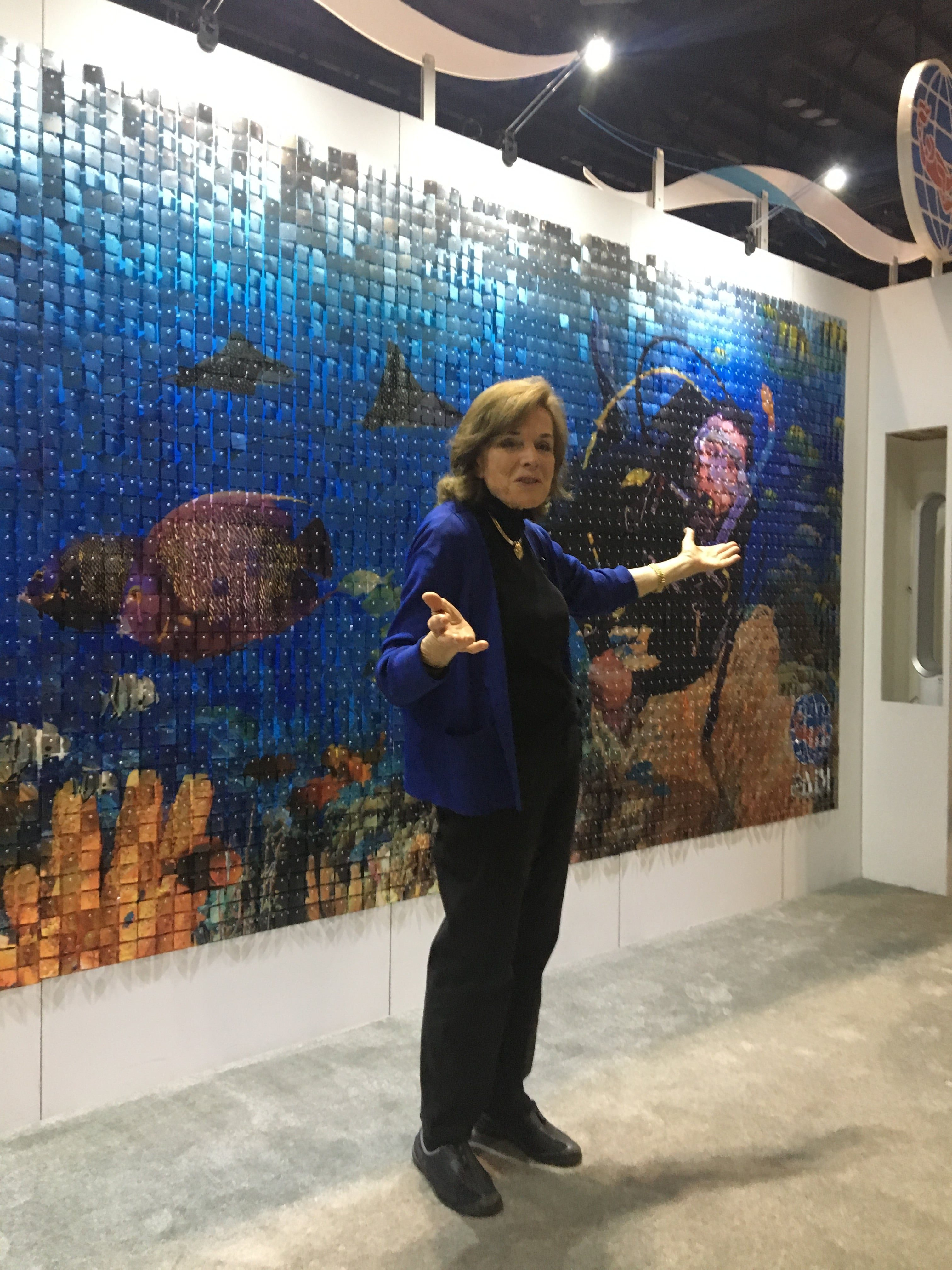 'Her Deepness' Dr. Sylvia Earle at DEMA Show 2017