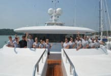 Top jobs are available on superyachts for qualified dive masters and diving instructors