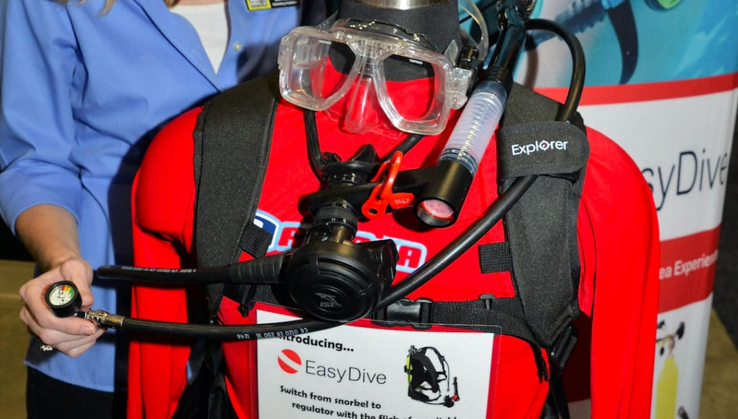Submersible Systems is showcasing its innovative new EasyDive Kit with a