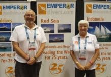 Terry and Theresa Simpson of Emperor Divers