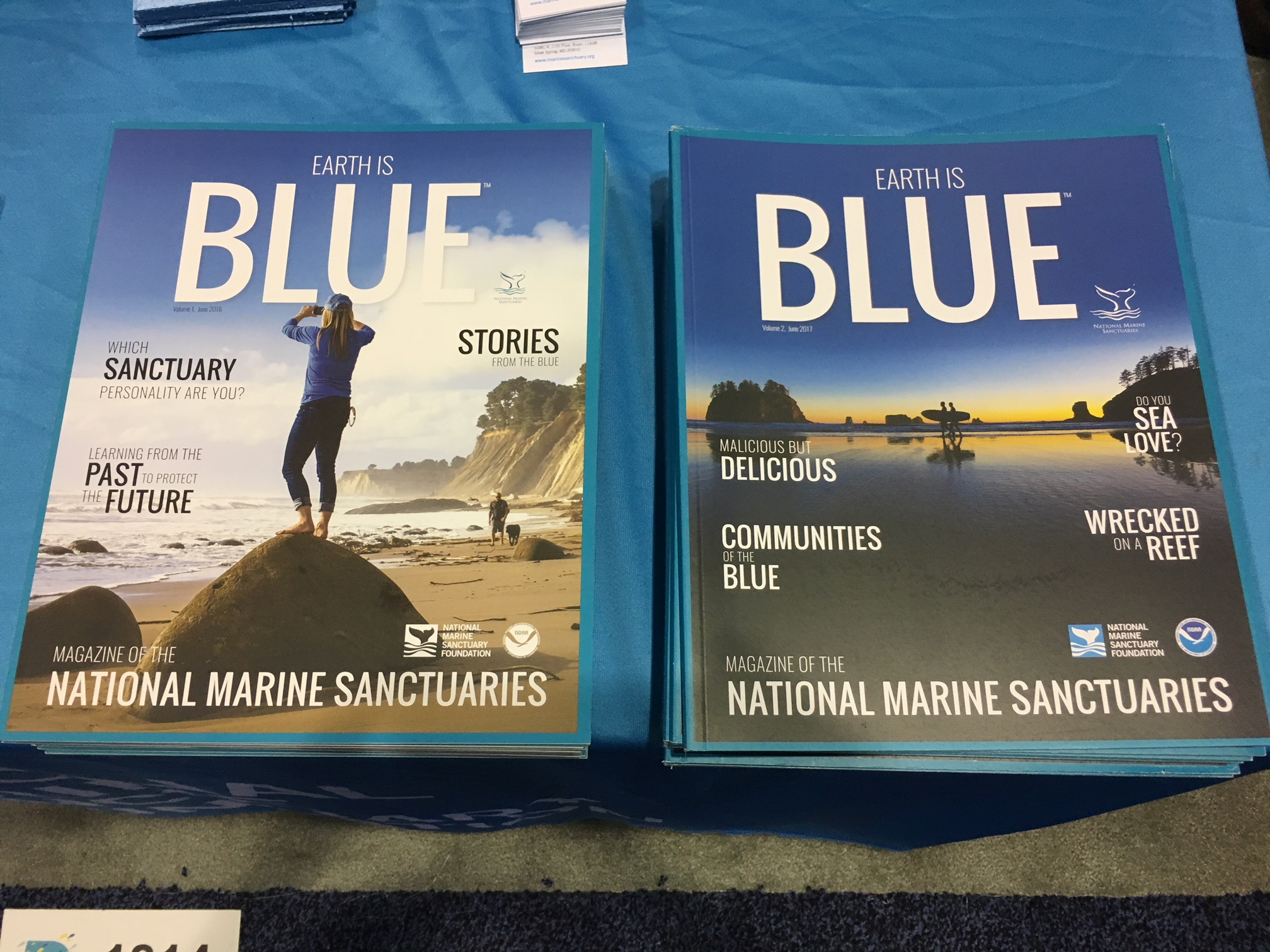 Earth is Blue. Learn about your local sanctuaries.