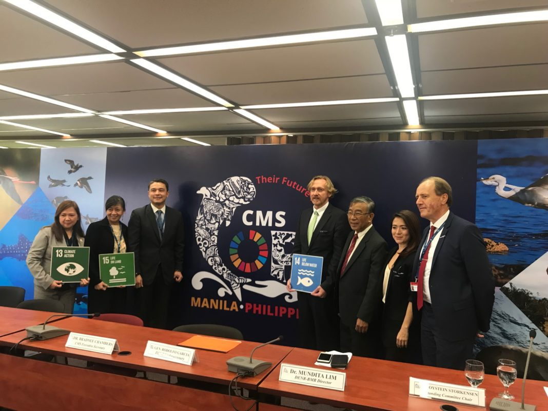 Project AWARE contributes to the 12th Session of the CMS