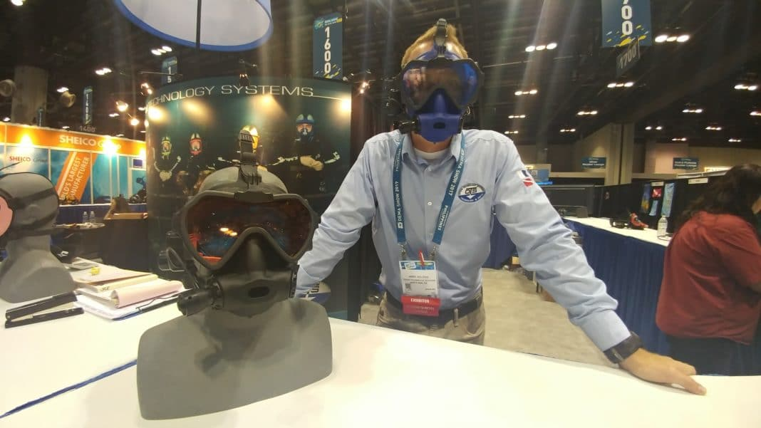 OTS's Spectrum Full Face Mask with new GoPro mount