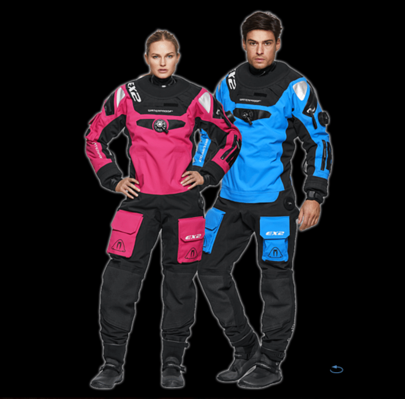 Waterproof EX2 dr suit available mid December