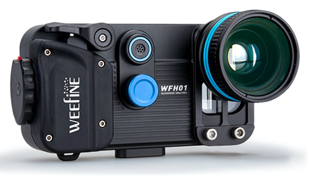 Weefine Showcases Dive+ Smartphone Housing