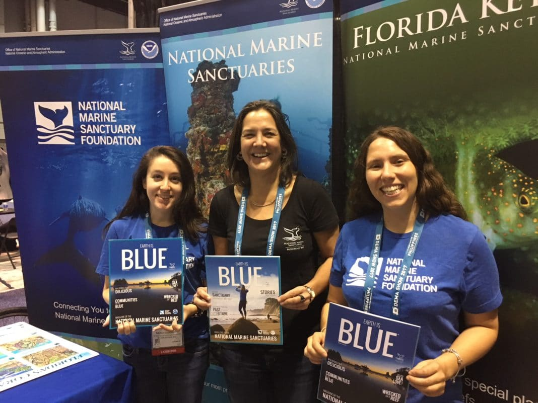 Kris Sarri and her NMSF team at #DEMAShow2017 (photo by Francesca Koe)