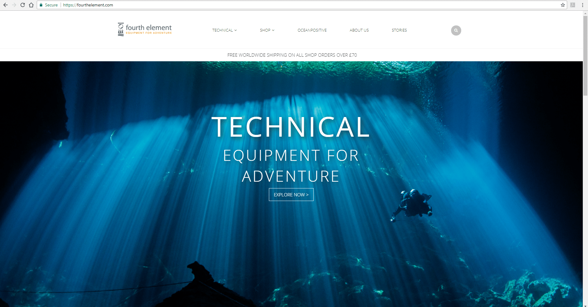 Fourth Element's Website Has A New Look
