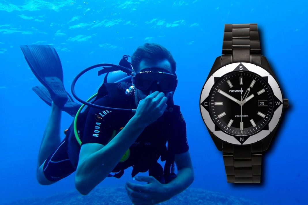 Crowdfunding Campaign Unveiled For New, High-End Dive Watch