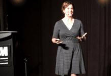 Freediver Mandy-Rae Krack Delivers Keynote Speech At Royal Ontario Museum