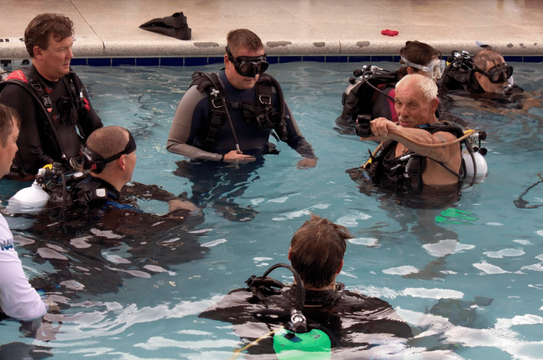 NAUI Launches Its Dive Leader Rescue Workshops