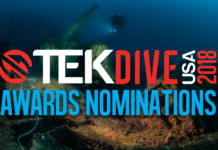 TEKDiveUSA Award Nominations Now Open