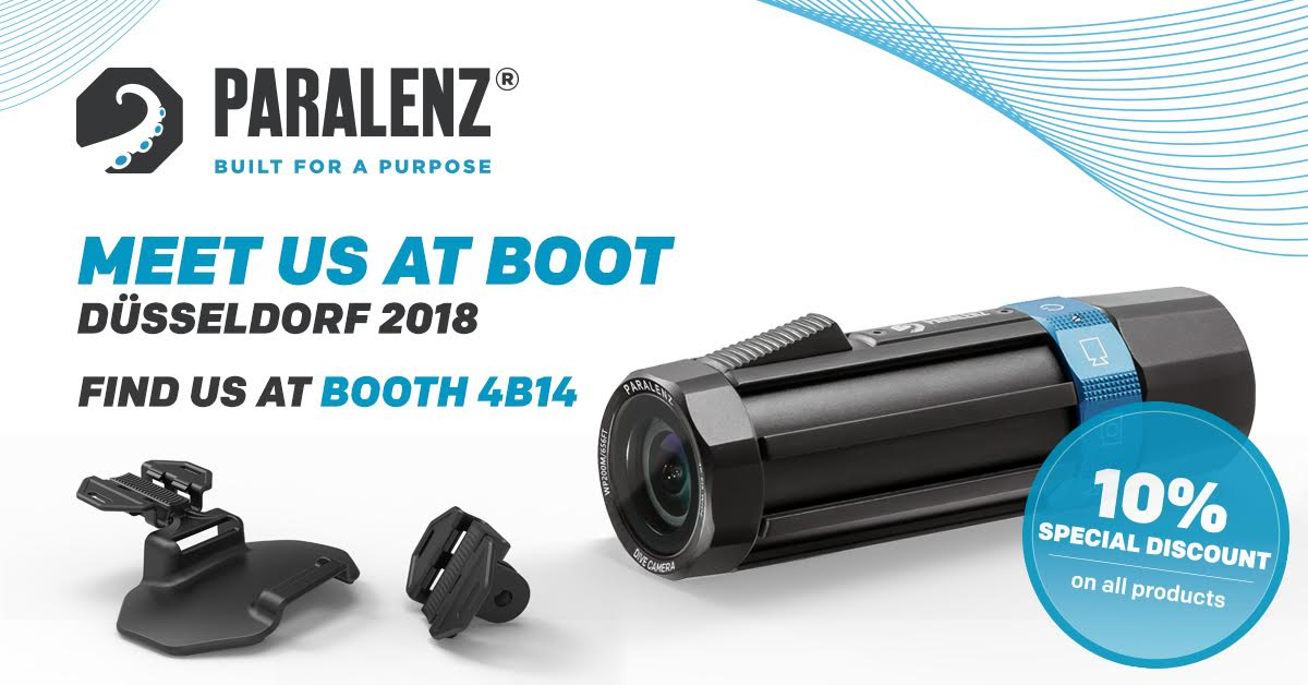 Paralenz is attended BOOT 2018 in Dusseldorf, Germany