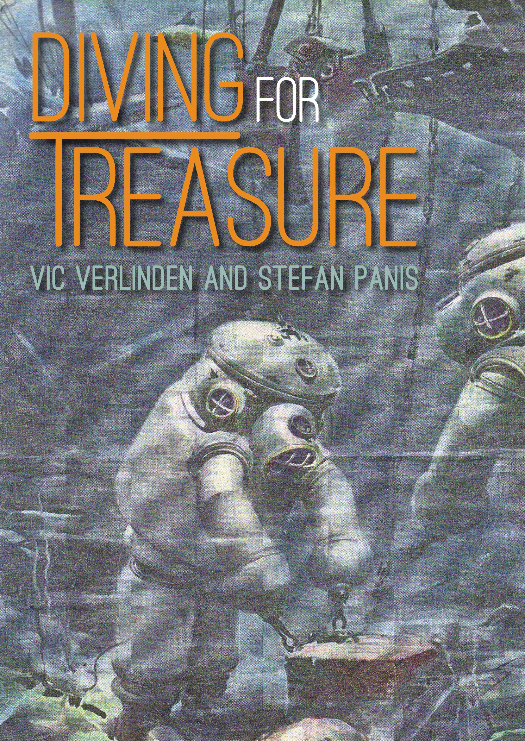 'Diving For Treasure' Shipwreck Book, by Vic Verlinden and Stefan Panis, Due Out This Month