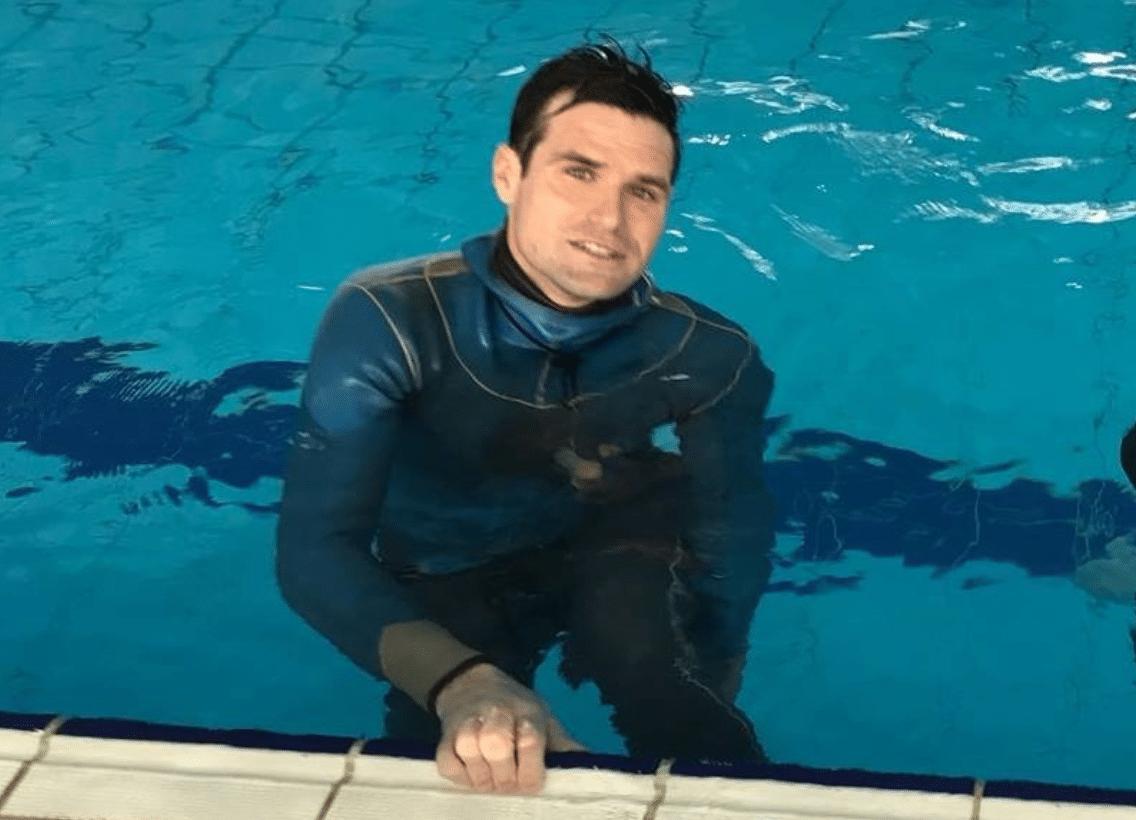 Freediver Veljano Zanki Sets New Croatian Static Record